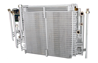Multi Stage Air Cooled Heat Exchanger